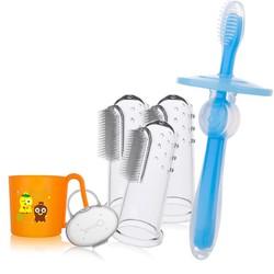 可啦 婴儿护齿牙刷组合套装