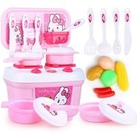 鑫乐 儿童过家家厨房玩具+切水果玩具 组合套装