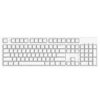 ikbc C104 樱桃轴机械键盘 104键原厂Cherry轴 白色 静音红轴