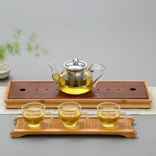 金镶玉 茶壶茶杯茶盘整套套装知趣如意套组 *5件