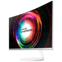 SAMSUNG 三星 C32H711QEC 31.5英寸 曲面显示器(2560×1440、量子点、FreeSync)