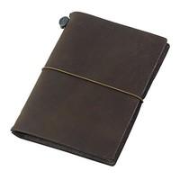 MIDORI Traveler's Notebook 手工笔记本 茶色