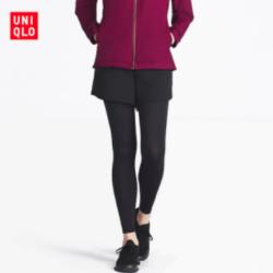 UNIQLO 优衣库 404520 女士AIRism系列运动紧身裤