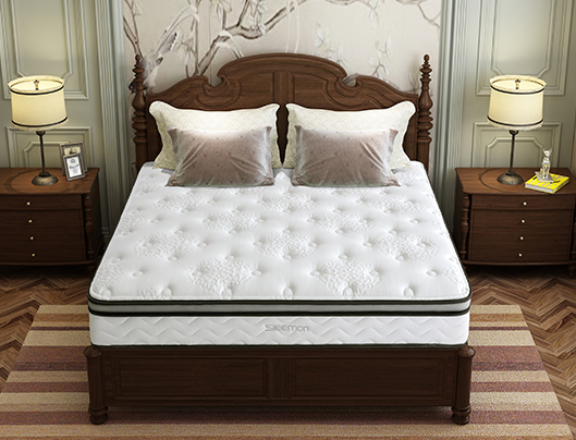 SLEEMON 喜临门 美姿 乳胶邦尼尔整网弹簧床垫 1.8*2m