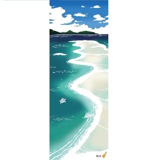 凑单品 : Airashika 天国之海 注染和风手拭 33×90cm