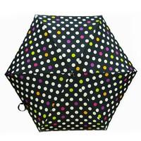 JoyAmy 时尚波点五折晴雨伞
