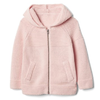 Gap 女婴幼童 休闲时尚舒适针织拉链连帽毛衣上衣632548 124元(需用券)