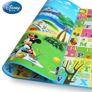 DISNEY 迪士尼宝宝爬行垫加厚2cm 米奇海滩+维尼教学 200*180*2cm *3件