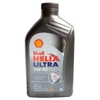 Shell 壳牌 Helix Ultra 超凡灰喜力 SN 5W-40 全合成机油 1L 德产 *9件