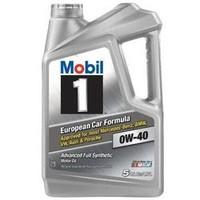 Mobil 美孚 1号 全合成机油 0W-40 SN级 4.73L