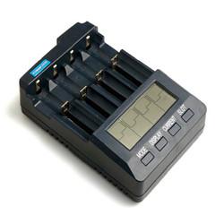 能研PowerFocus BC3100 液晶五号七号锂电池数字充电器 加原装拓展坞+凑单品