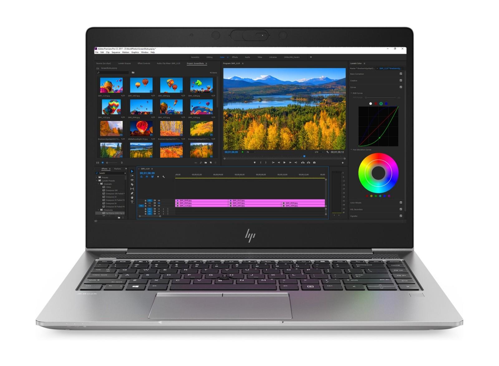 HP 惠普 ZBOOK 14uG5-3XG38PA 14英寸 笔记本 移动工作站(i7-8550U、8GB、256GB、WX3100 2GB)