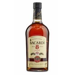 bacardi百加得_BACARDI 百加得 八年朗姆酒 1L *3件 429.6元(合143.2元/件)429.6元(合 ...