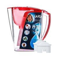 LAICA 莱卡  JA24  免掀盖双流滤水壶 红色 3.1L (一壶三芯)