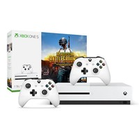Microsoft 微软 Xbox One S 1TB 游戏机+《绝地求生》同捆装+ 额外无线手柄