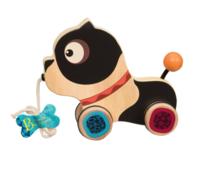 B.Toys 比乐 BX1392Z 木制小狗拖拉玩具 *4件