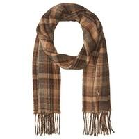 Polo Ralph Lauren  英格兰格纹羊毛围巾