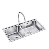 OULIN 欧琳 OLWG83460 不锈钢水槽 配C7501精铜龙头 +凑单品