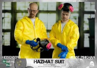 threezero 绝命毒师 海森堡&杰西·平克曼 化学防护衣套装