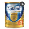 Aptamil 爱他美金装奶粉1段 900g*3罐 AU$85(约409元,包邮包税,约136.3元/罐)
