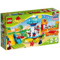 LEGO 乐高 DUPLO 得宝系列 10841 家庭游乐园 *2件