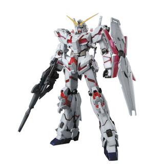 万代(BANDAI)高达Gundam拼插拼装模型玩具 MG版 独角兽OVA版敢达0162053