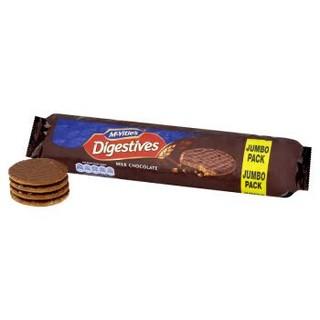 McVitie's 麦维他 牛奶巧克力全麦消化饼干 500g *5件