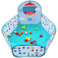 Fisher Price 费雪 F0316 儿童海洋球池 (配25个海洋玩具球)