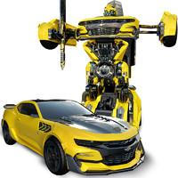 Hasbro 孩之宝 加大1:12变形金刚儿童玩具遥控车 可充电手势声控感应 118元