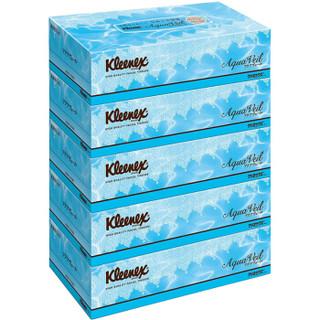 舒洁 保湿柔软纸巾180 抽/盒×5 日本原装进口 *3件