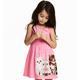 H&M 女童 无袖印花连衣裙