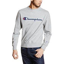 中亚Prime会员、限M码 : Champion Basic系列 C3-H004 男士圆领卫衣