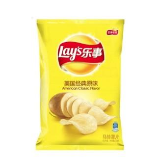 限地区 : Lay's 乐事 薯片 美国经典原味 235g
