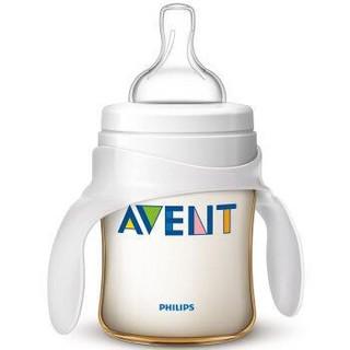 飞利浦 AVENT 新安怡 经典系列 宽口径PES奶瓶 升级带把手款 125ml *2件
