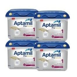 Aptamil 爱他美 Profutura 白金版 婴儿配方奶粉 1段 800g*4罐 德国版