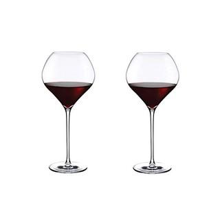 Pasabahce 帕莎 66140葡萄酒杯860ml*2 水晶玻璃白葡萄酒杯高脚大杯