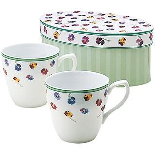 凑单品、中亚Prime会员 : NARUMI 鸣海制陶 40761-32627 细瓷对杯套装 240ml*2个装