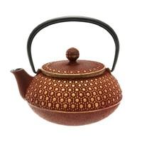 中亚Prime会员 : Iwachu 岩铸 蜂巢 日本铸铁茶壶 660ml