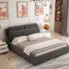 A家家具 北欧可拆洗布艺床 1.5米 1769元