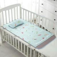 南极人 婴儿凉席 带冰丝枕头 100-120cm*56cm可选