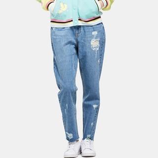 ES 艾格 170323018 直筒牛仔裤