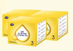 飞鹤 FIRMUS 飞帆经典呵护3段婴幼儿配方牛奶粉 特惠四联装 1600g*2盒