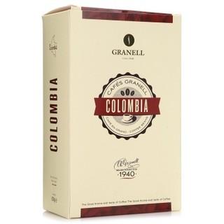西班牙进口 可莱纳(Granell)哥伦比亚咖啡豆 500g/袋(新老包装交替发货) *2件