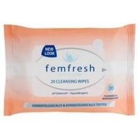femfresh 芳芯 女性温和洁肤湿巾 20片