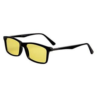 美国Jimmy Orange 男女款卡尔蔡司镜片防蓝光防辐射抗疲劳板材全框眼镜JO7600ZBBK亮黑色