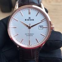 EDOX 依度 Les Vauberts系列 80081-37R-AIR 男士机械腕表