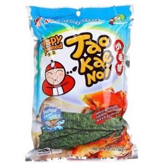 泰国进口 小老板 调味海苔(海鲜味)36g *13件