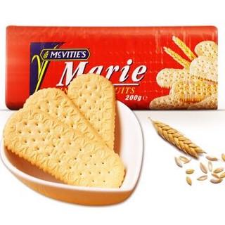 Mcvitie's麦维他 玛丽亚消化饼干 英国进口  200g *28件