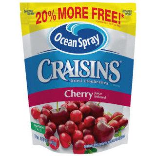 美国进口 优鲜沛Ocean Spray Craisins 蔓越莓干 樱桃味 340g *10件