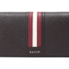 BALLY 巴利 TALIRO LT 21 男士咖啡色红白条纹皮质长款钱包钱夹 *2件 2498.6元(合1249.3元/件)